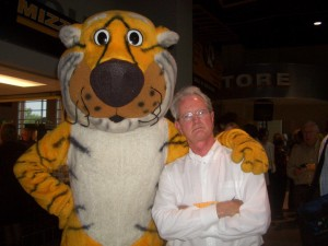 (Mizzou's Truman, left, and me)