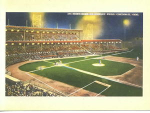 (Cincinnati's Crosley Field, May 24, 1935)